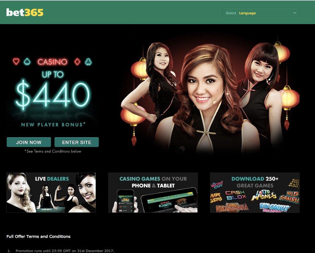 Bet365 casino promotions & free spins 2019 - Allgamblinglist com