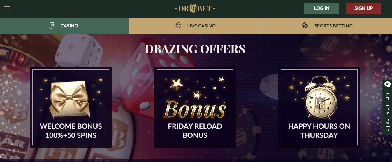 drbet bonus