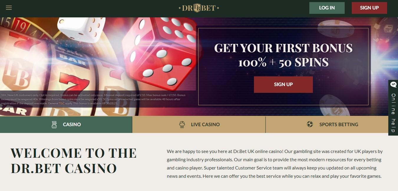 dr. bet casino